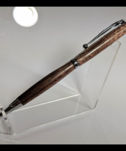 Slimline Pen - Texas Black Walnut - Chrome Hardware