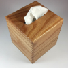 Tissue Box - Small - Flat Sawn Oak