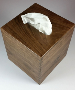 Tissue Box - Small - Black Walnut